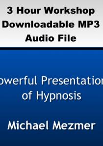 Powerful Presentations of Hypnosis